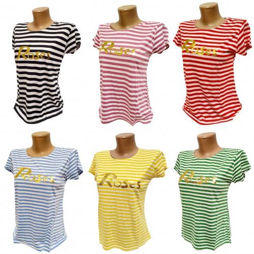 Хлопковые женские футболки