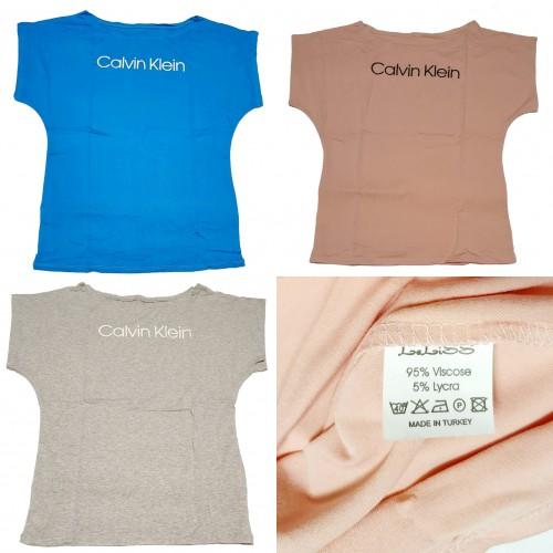 Женские футболки Кельвин Кляйн
