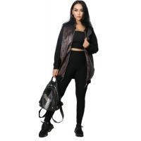 Женский костюм Бомбер со штанами