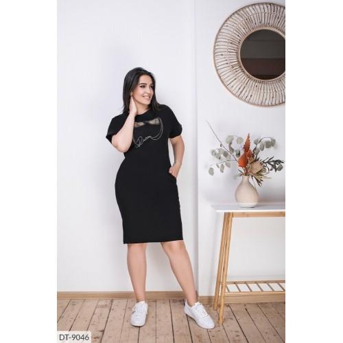 Стильное платье Лён со стрейтчем
