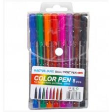 Набор цветных ручек в сумочке