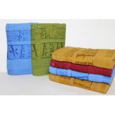 Махровые полотенца Bamboo 100*50см