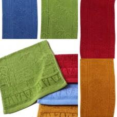 Махровые полотенца Bamboo 70*35см