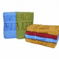 Махровые банные полотенца Bamboo 140*70см