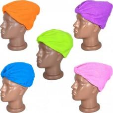 Полотенце на голову для сушки волос
