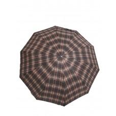 Зонт полуавтомат в клеточку