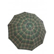 Стильные зонты в клетку полуавтомат Качественные