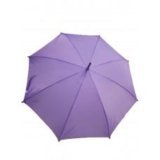 Сиреневый женский зонт трость