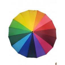 Зонт разноцветный Радуга, качество