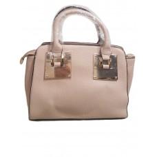 Стильная сумка Sophie Hulme пудрового цвета