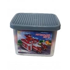 Конструктор Спасательный отряд 217 дет( размер LEGO Duplo)