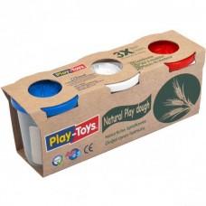 Тесто для лепки «Play-Toys». БОЛЬШИЕ БАНКИ
