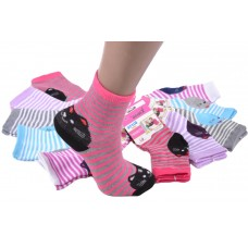 Детские носки Котики на пятке и носке