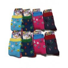 Махровые детские носки для девочек
