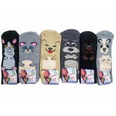 Махровые бамбуковые носочки для детей