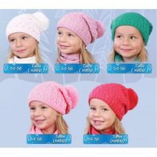 Шапки +шарф для детей