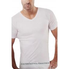 Мужская футболка с V образным вырезом Турция