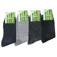 Бамбуковые носки в сетку.
