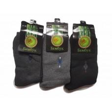 Мужские бамбуковые носки на махре