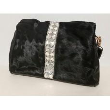 Женская сумка с мехом