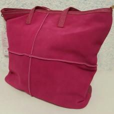 Замшевая женская сумка