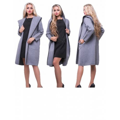 Кашемировое пальто Кардиган, высокое качество