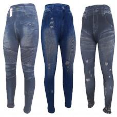 5648b8438cf76 Плотные лосины под джинсы женские Pesail
