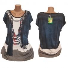 Женские футболки Больших размеров Бамбук