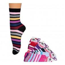 Женские носки в полосочку