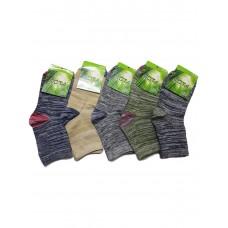 Меланжевые носки Унисекс Бамбук