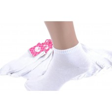 Женские носки белые Спорт