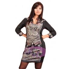 Женское платье - туника с орнаментом