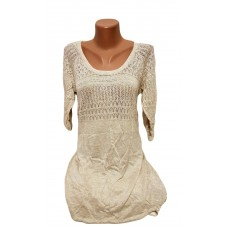 Вязаное платье - туника